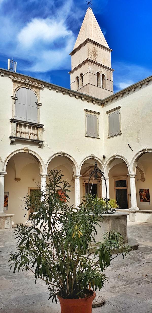 Piran monastery view