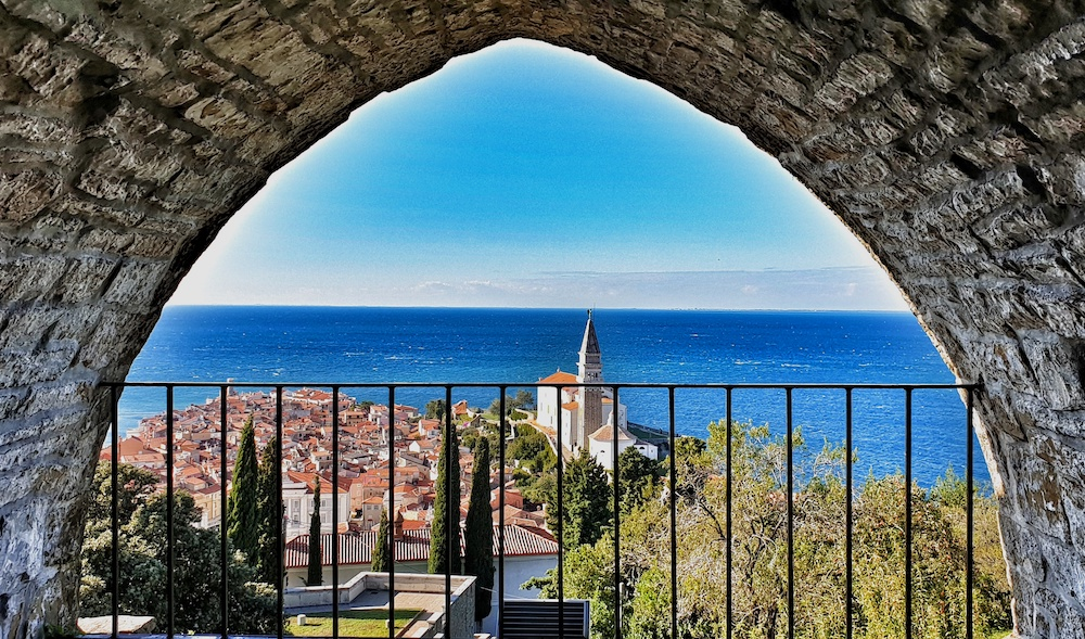 Piran view Town Wall