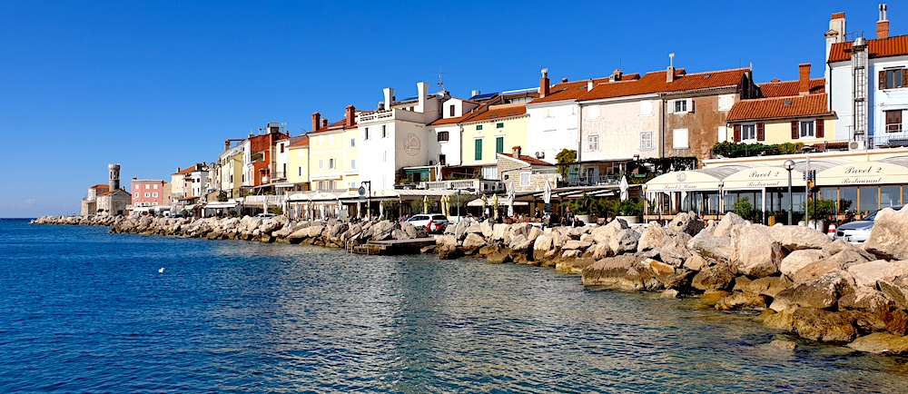 Piran south coast view
