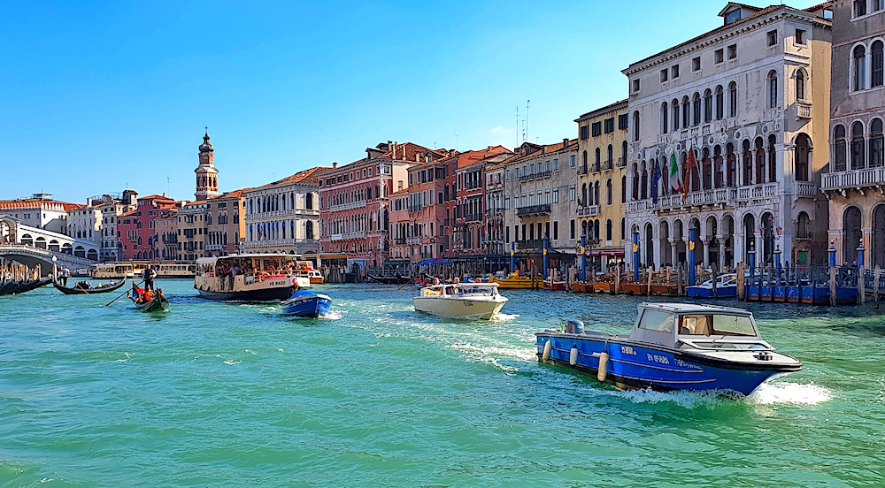 Venice by water