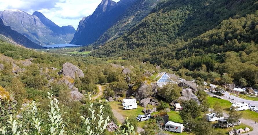 Briksdalen Camping