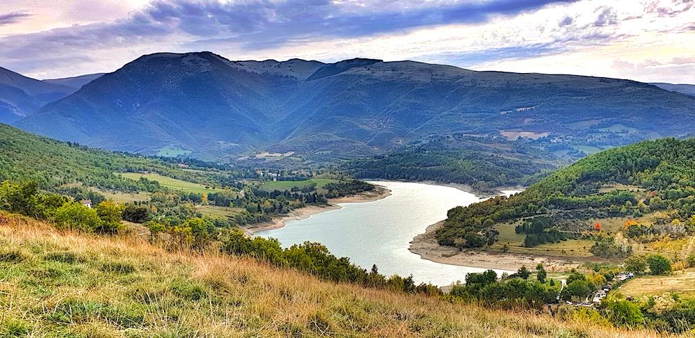 Fiastra Lake Sibillini Le Marche