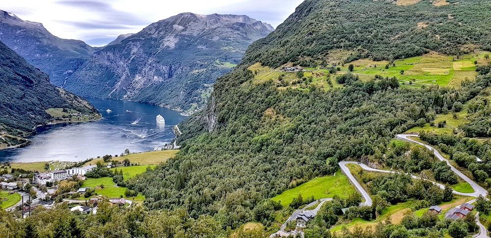 Geiranger south view