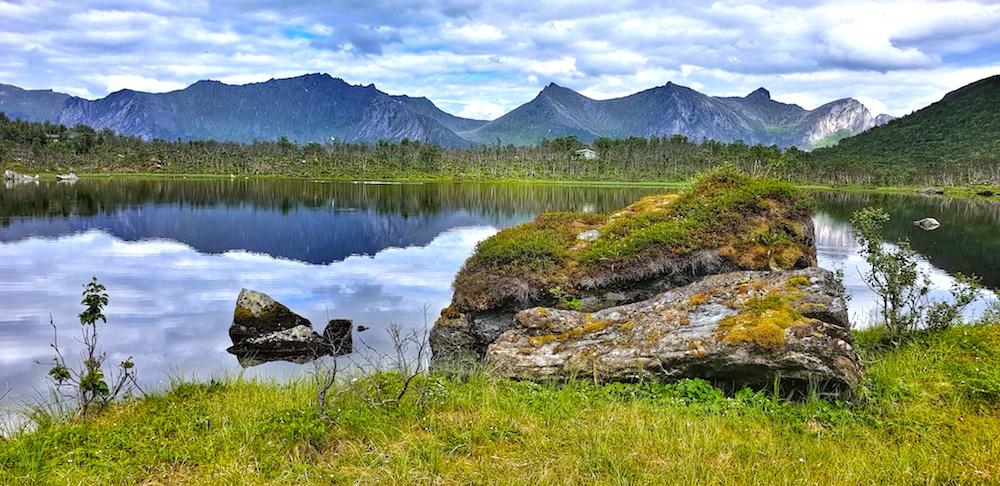 Mefjord tarn Senja