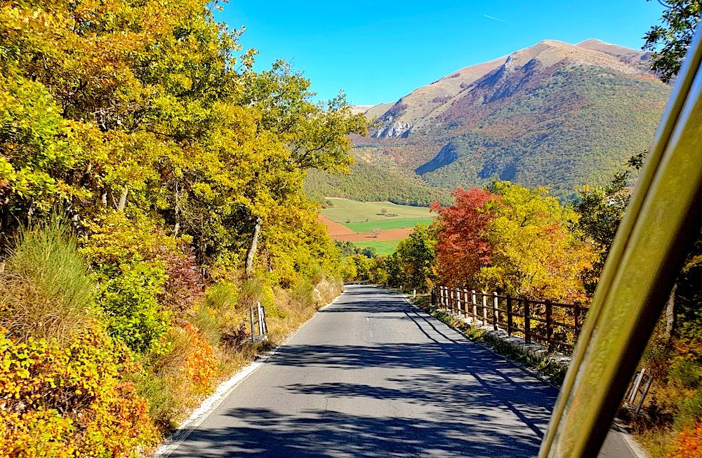 Sibillini Le Marche autumn
