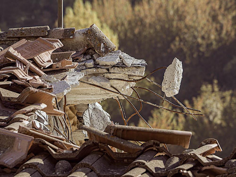 Earthquake damage, Le Marche