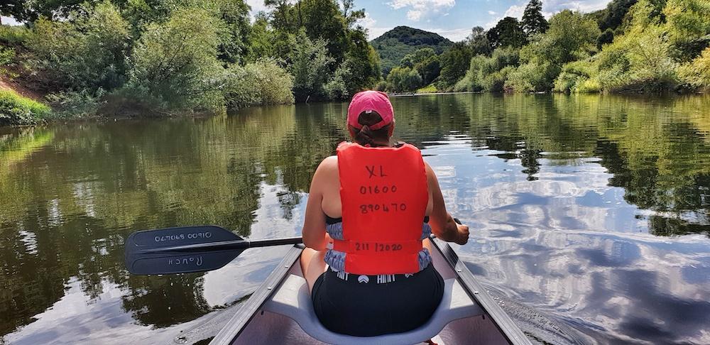Canoe trip Ross Wye