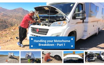 Handling your Motorhome Breakdown – Part 1