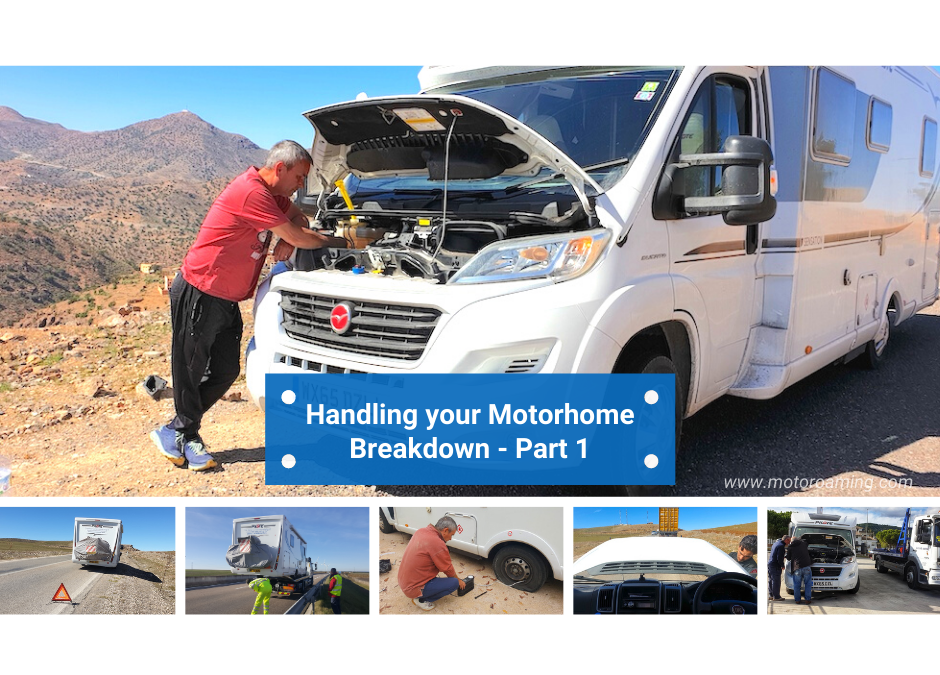 Handling your Motorhome Breakdown – Part 1